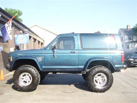 airbag deployment 1986 ford bronco ii transmission control lifted 1986 ford bronco 2 eddie bauer restored on 35 mickey thompsons
