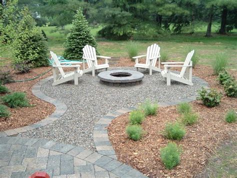 Backyard Landscaping Ideas With Pit by Best 25 Pit Designs Ideas Only On