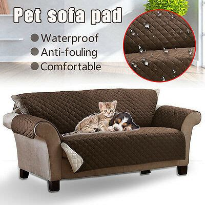 waterproof pet dog couch loveseat sofa cushion pad dirt proof protector cover cad