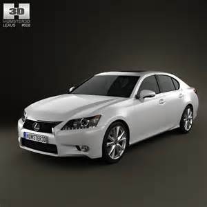 lexus gs 2012 3d model humster3d