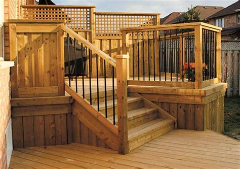 deck fence designs deck fence ideas decking fencing inspiration gallery home depot