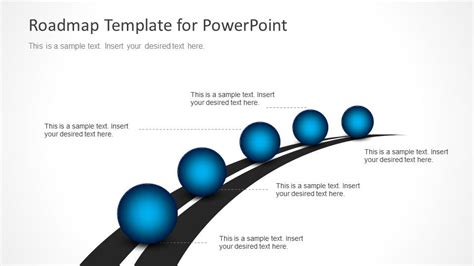 road map timeline 15 best images of powerpoint road map graphic free