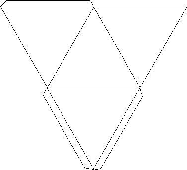 net pattern of triangular prism triangular prism teaching math pinterest