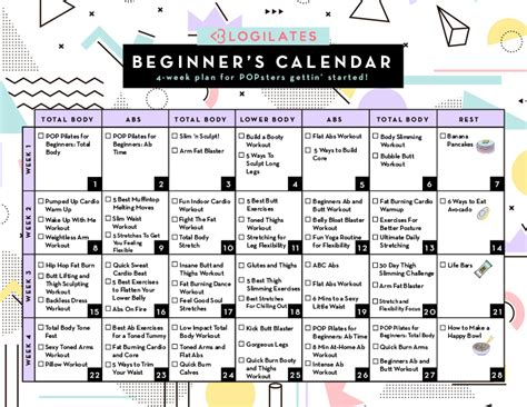 Printable Workouts For Beginners