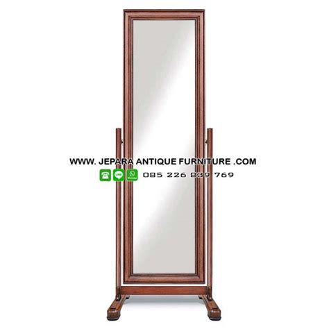 Cermin Kayu Jati desain cermin rias minimalis jati produk kota mebel jepara