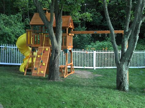 backyard discovery sonora cedar wood swing set backyard playset assembly 100 backyard playset ideas diy