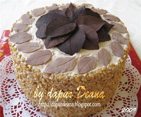 Coklat Pasta D Filling dapur deana mocha cake