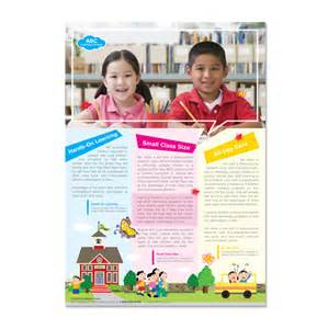 school flyers templates free learning center school flyer template