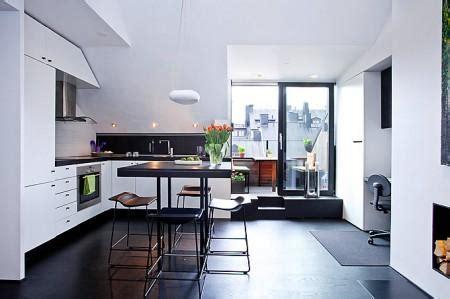 apartamento loft minimalista en blanco y negro decoraci 243 n decoraci 243 n en blanco y negro con toques pop paperblog