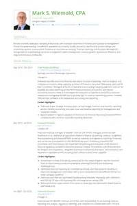 Chief Officer by Chief Financial Officer Resume Sles Visualcv Resume Sles Database