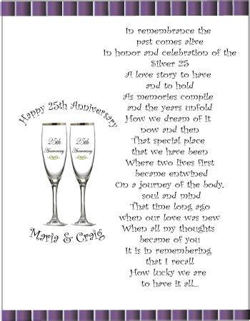 75th wedding anniversary poems   25th Anniversary Ideas