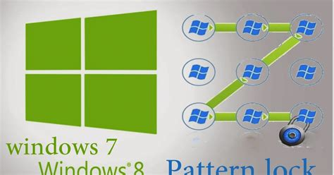 pattern password software for windows 7 how to add pattern lock for windows 7 and windows 8 it