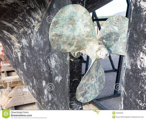 boat propeller bronze bronze boat propeller stock photo image 53566229