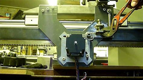 Cnc Rack And Pinion by Sjuul Cnc Release Rack And Pinion System