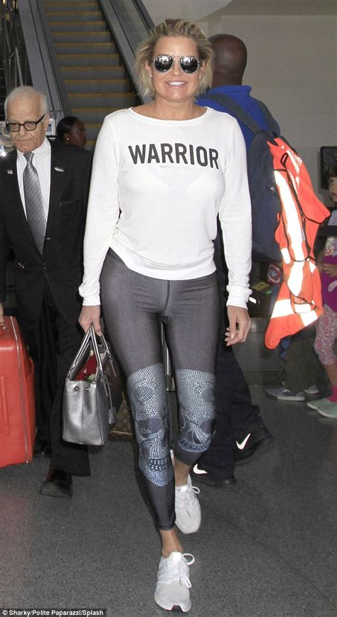 what jeans does yolanda foster wear yolanda hadid rocks empowering top at lax after joining