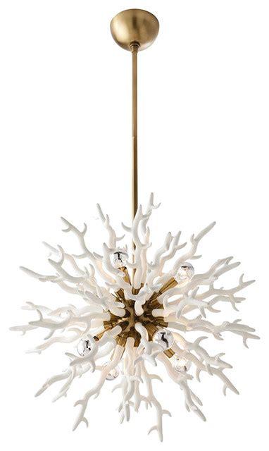 small white chandelier arteriors diallo chandelier white small contemporary
