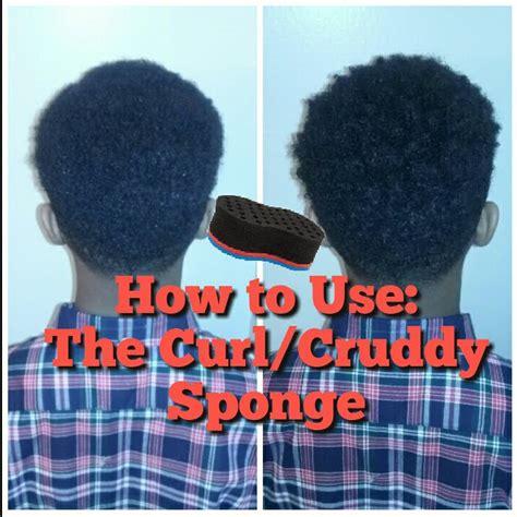how to start a cruddy the curl cruddy sponge tutorial youtube