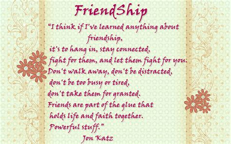 Quotes About And Friendship Quotes Friendship Quotation