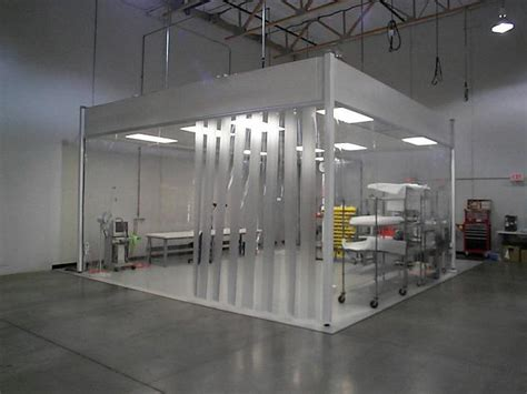 modular clean room softwall portable modular clean room design manufacturer pacific environmental
