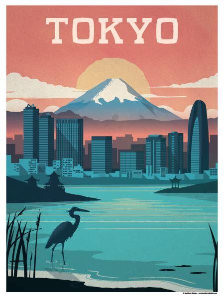 ideastorm studio store vintage tokyo poster