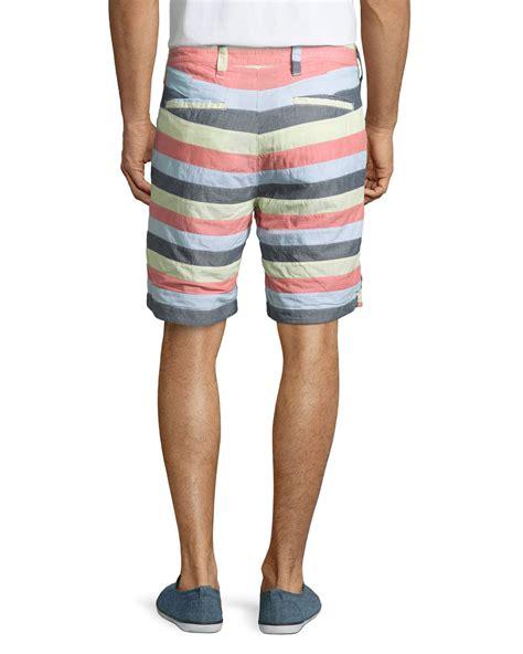 Atasan Tops Back Zipper Tekstur Woody Wedges lyst tailor vintage reversible regular fit walking shorts for