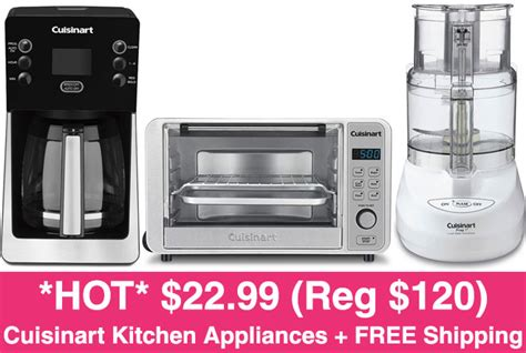 cuisinart kitchen appliances hot 22 99 reg 120 cuisinart kitchen appliances