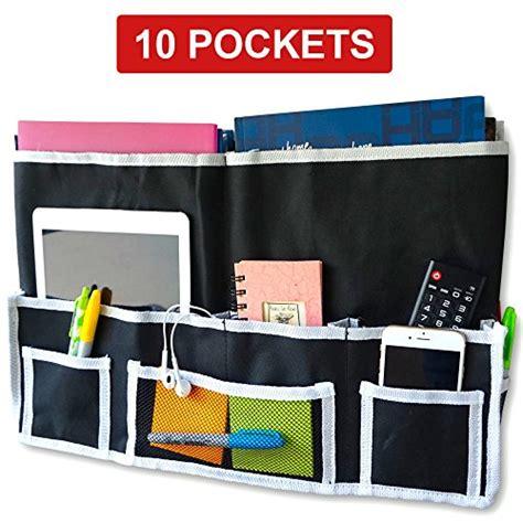 Bedside Hanging Pocket fancii 10 pocket bedside caddy hanging storage organizer