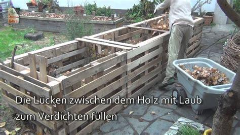 Anbauwand Selber Bauen by Das 5qm Europaletten Hochbeet How To