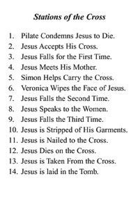 FREE Alternate Messages - Stations of the Cross