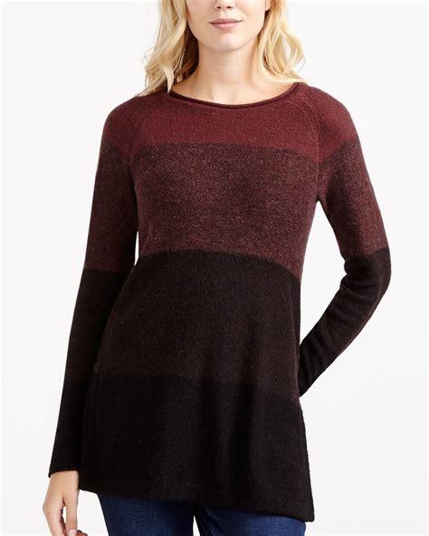 Color Block Sweater colour block sweater tunic reitmans