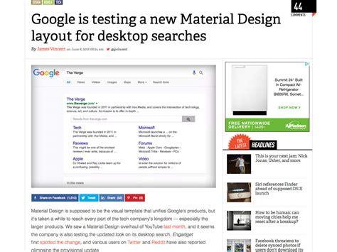 google material design layout popular design news of the week june 6 2016 june 12