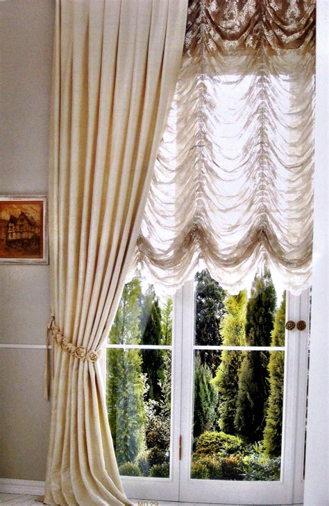 Custom Made Window Blinds Austrian Window Treatments Bergen County Nj Austrian