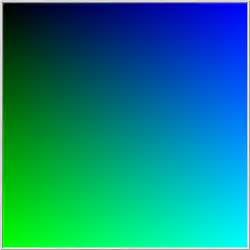 green blue color patterns in the php random function ideonexus