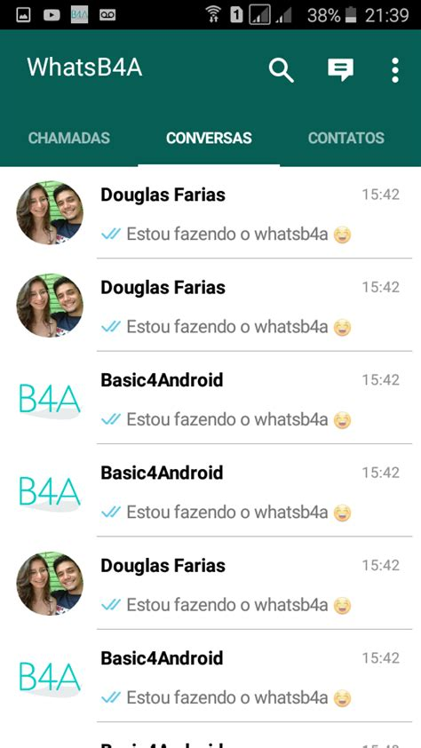 tutorial whatsapp discover share my creation whatsapp layout source to sell b4x