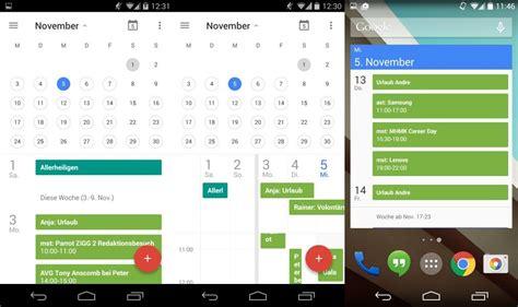 design google kalender ändern android neue kalender app schon jetzt per apk