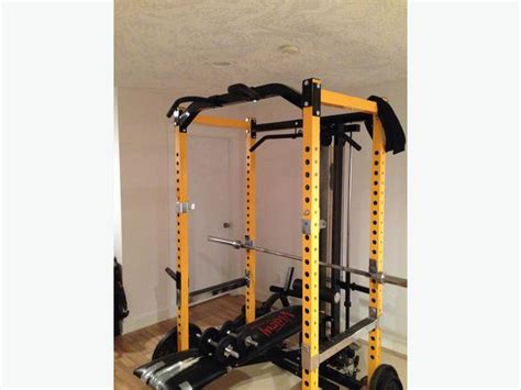 Powertec Power Rack With Lat Tower by Squat Rack With Lat Pulldown Rowing Attachment Malahat