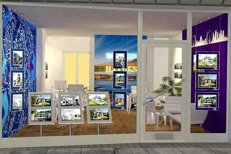 displays  estate agents