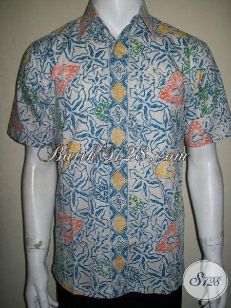 Kemeja Kantor Pria Shanghai Biru Muda Best Seller kemeja batik pria muda masa kini dengan dasar putih trend