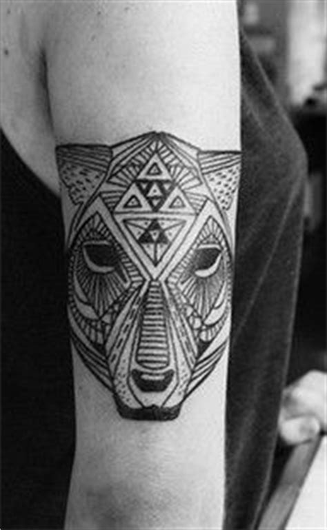 pattern bear tattoo 1000 images about geometric tattoos on pinterest