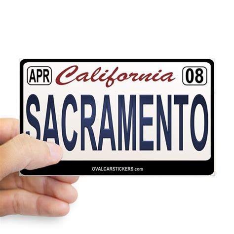 Sticker Plat California california license plate sticker sacraemento by