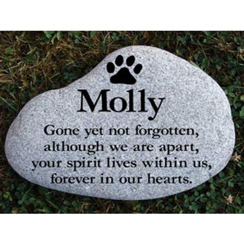 memorial stones for dogs stones pet stones pet memorial pet monuments