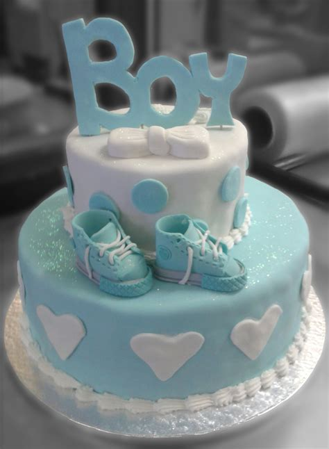 Baby Shower Cakes For Boys by Boy Baby Shower Cake Geneva Bakery