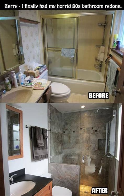 bathroom remodeling small bathroom 10 before and after bathroom remodel ideas for 2017 2018