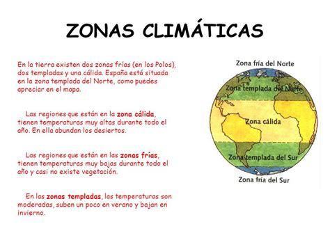 zonas climaticas de espana las los grandes biomas ppt descargar