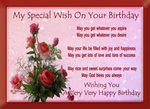 my special birthday wish free birthday wishes ecards greeting cards 123 greetings