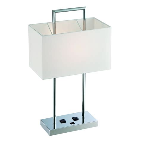 rectangular l shades for table ls lite source lighting chrome table l with