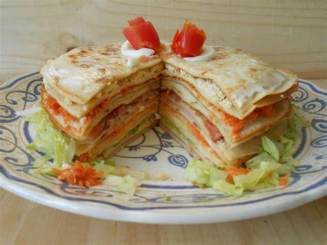 recetas de cocina argentinapanqueques torre de panqueques multicolor taringa