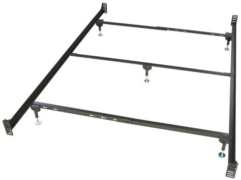 Size Metal Bed Frame For Headboard And Footboard bolt on size metal bed frame for headboard and footboard