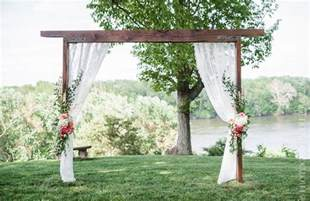 Decorated Wedding Arbors Chuppahs And Arbors The Art Of The Wedding Arch East