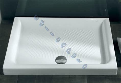 piatto doccia in plastica piatto doccia in ceramica cm 120x70 nuovo di hatria ebay